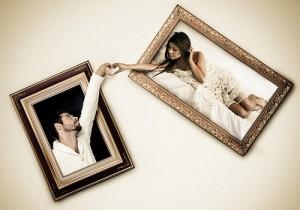 Imatge de la invitació de casament