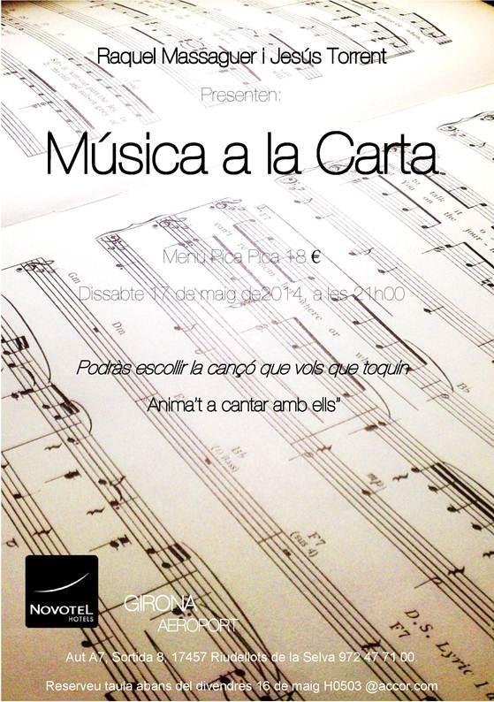 Música a la carta a Novotel Girona